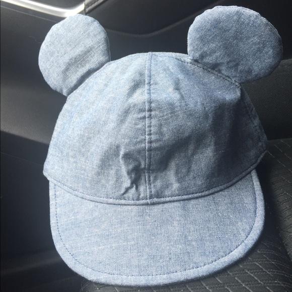 e3bd57301445fb GAP Accessories | Baby Disney Mickey Mouse Denim Hat 612m | Poshmark